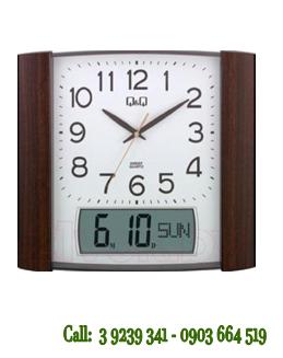 Đồng hồ Treo tường 0257K500Y chính hãng Q&Q Citizen Nhật