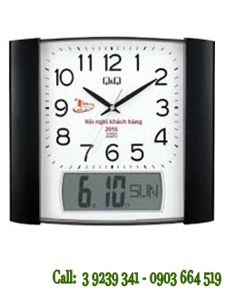 Đồng hồ Treo tường 0257K501Y chính hãng Q&Q Citizen Nhật