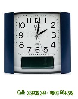 Đồng hồ treo tường Q&Q 0257K504Y chính hãng Q&Q Citizen Nhật