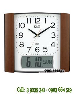 Đồng hồ Treo tường Q&Q 0257K505Y chính hãng Q&Q Citizen Nhật