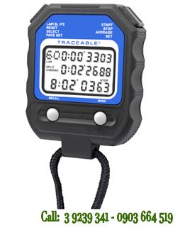 Đồng hồ bấm giây Đếm Lùi 60 Laps và có chế độ Repeat tự động lặp lại 1025 Traceable® 60 Memory Stopwatch