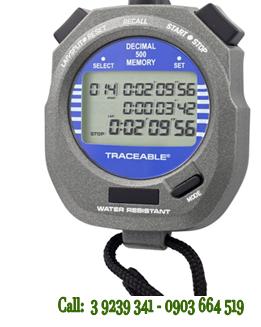 Đồng hồ bấm giây Đếm Tiến và Đếm lùi với 500 Laps Control 1031 Traceable@Decimal Stopwatch chính hãng