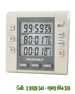 Đồng hồ đếm lùi-đếm tiến 03 kênh 5000Traceable®Three-Channel Alarm Timer chính hãng Control USA