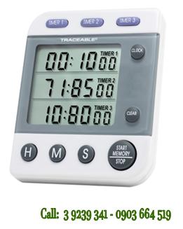 Đồng hồ đếm lùi-đếm tiến 03 kênh 5008 Traceable® Three-Line Alarm Timer chính hãng COntrol USA