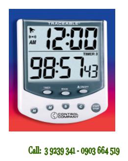 Đồng hồ bấm giờ đếm tiến - đếm lùi 03 kênh 5009 Traceable® Big-Foot Timer chính hãng Control USA