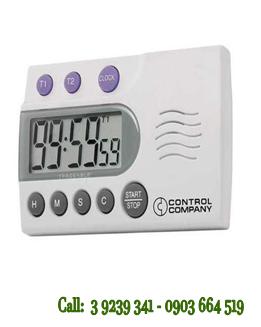 Đồng hồ đếm lùi 02 kênh 5014 Extra-Extra-Loud Traceable® Timer chính hãng Control USA