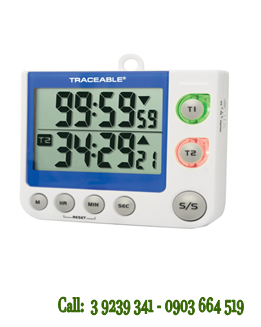Đồng hồ bấm giây 5017 Traceable® Flashing LED Big-Digit Dual Channel chính hãng Control USA