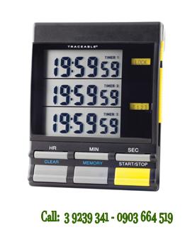 Đồng hồ đếm lùi-đếm tiến 03 kênh 5025 Traceable® Triple-Display Timer chính hãng Control USA