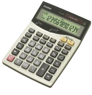 Máy tính tiền Casio DJ-240 chính hãng Casio/tạm hết hàng