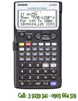FX-5800P, Máy tính Casio Khoa học Lập trình FX-5800P (Bảo hành 1 năm)