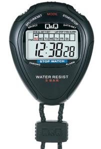 HS46J001Y, Đồng hồ bấm giây Q&Q HS46J001Y chính hãng | CÒN HÀNG