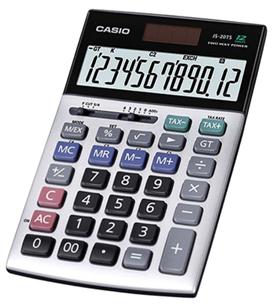Máy tính Casio JS-20TS, JS-20TV chính hãng