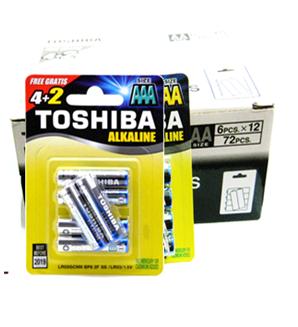 Pin AA 1.5V Alkaline Toshiba LR6GCNN BP6 chính hãng