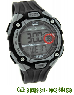 Đồng hồ điện tử M083J001Y chính hãng Q&Q Citizen Nhật