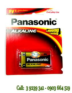 Pin 9V Panasonic 6LR61 Alkaline chính hãng Made in Japan
