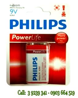 Pin Philips 6LR61P1B/97 Alkaline 9V chính hãng