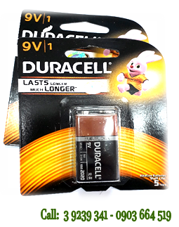 Pin 9V Duracell Duralock Alkaline 6LR61, MN1604B chính hãng