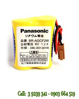 Pin nuôi nguồn PLC-CNC lithium 6V Panasonic BR-AGCF2W chính hãng Panasonic nhập khẩu
