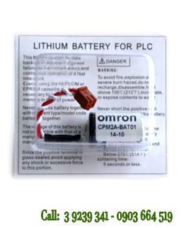 Pin Omron CPM2A-BAT01 lithium 3.6V nuôi nguồn Omron PLC chính hãng