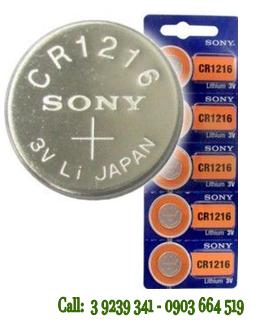 Pin 3V Lithium Sony CR1216 chính hãng Sony Nhật