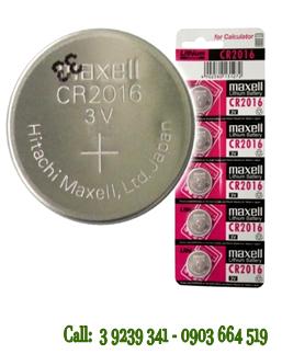 Pin Maxell CR2016 lithium 3V chính hãng Maxell Nhật