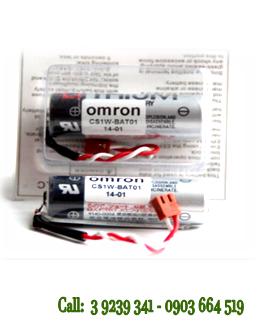 Pin Omron CS1W-BAT01 lithium 3.6Vnuôi nguồn PLC-CNC chính hãng