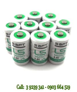 Pin SAFT LS14250 lithium 3.6V size 1/2AA - 1200mAh nuôi nguồn PLC chính hãng SAFT Pháp