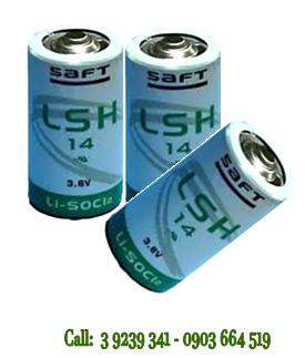 Pin SAFT LSH14 lithium 3.6V size C - 5500mAh nuôi nguồn PLC/CNC chính hãng SAFT Pháp