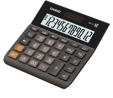 Máy tính tiền để bàn văn phòng Casio MH-12 chính hãng Casio Japan