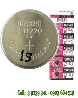 Pin 3V Lithium Maxell CR1220 chính hãng Maxell Nhật