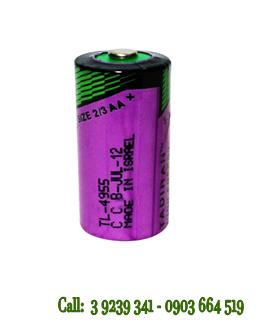 Pin Tadiran TL-4955 lithium 3.6V size 2/3AA - 1650mAh nuôi nguồn PLC/CNC chính hãng Tadiran Israel