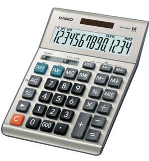 Máy tính tiền Casio DM-1400BM có phím 000| hàng chính hãng