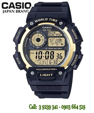 Đồng hồ Nam Casio AE-1400WH-9A chính hãng Casio Japan (AE1400WH)