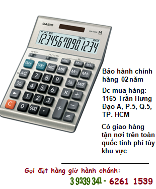 Casio DM-1400B, Máy tính tiền Casio DM-1400B loại 14 số Digits| CÒN HÀNG