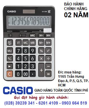 Casio GX-120B, Máy tính tiền Casio GX-120B loại 12 số Digits chính hãng| CÒN HÀNG