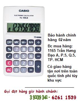 Casio HL-100LB, Máy tính tiền Casio HL-100LB loại 8 số DIgits chính hãng| ĐẶT HÀNG TRƯỚC