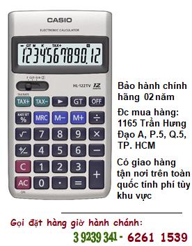 Casio HL-122TV, Máy tính tiền Casio HL-122TV loại 12 số Digits chính hãng| CÒN HÀNG
