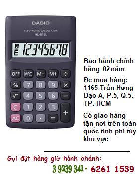 Casio HL-815L, Máy tính tiền Casio HL-815L loại Digits 8 số chính hãng| ĐẶT HÀNG TRƯỚC