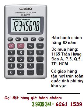 Casio HL-820VA, Máy tính tiền Casio HL-820VA loại 8 số Digits chính hãng| HẾT HÀNG