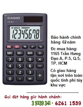 Casio HS-8LV, Máy tính tiền Casio HS-8LV loại DIgits 8 số chính hãng| ĐẶT HÀNG TRƯỚC