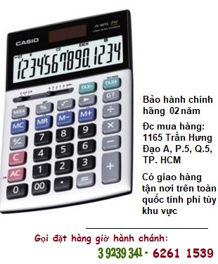 Casio JS-40B, Máy tính tiền Casio JS-40B loại 14 số DIgits phím ĐÚC chính hãng| CÒN HÀNG