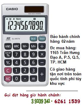 Casio SL-315TV, Máy tính tiền Casio SL-315TV loại 10 số Digits chính hãng| ĐẶT HÀNG TRƯỚC
