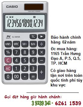 Casio SL-340VA, Máy tính tiền Casio SL-340VA loại 14 số Digits chính hãng| ĐẶT HÀNG TRƯỚC