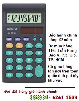 Casio SL-450L, Máy tính tiền Casio SL-450L loại 8 số Digits chính hãng| ĐẶT HÀNG TRƯỚC