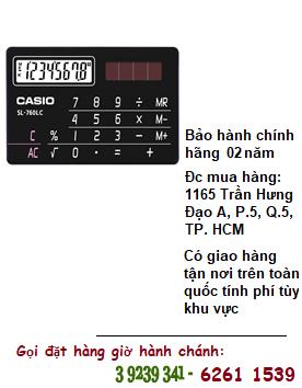 Casio SL-760LC, Máy tính tiền Casio SL-760LC loại 8 số Digits chính hãng| ĐẶT HÀNG TRƯỚC