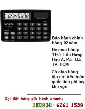 Casio SL-787TV, Máy tính tiền Casio SL-787TV loại 8 số Digits chính hãng| ĐẶT HÀNG TRƯỚC