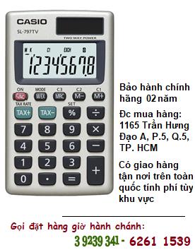 Casio SL-797TV, Máy tính tiền Casio SL-797TV loại 8 số Digits chính hãng| ĐẶT HÀNG TRƯỚC