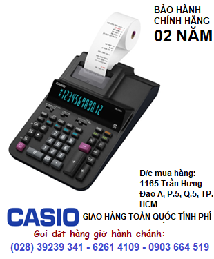 Casio DR-120R-BK, Máy tính tiền in Bill Casio DR-120R-BK chính hãng| ĐẶT HÀNG