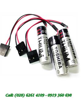 Pin Toshiba ERRC6VCT(P) Lithium 3.6V chính hãng nuôi nguồn PLC-CNC
