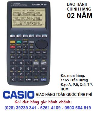 Casio FX-2.0, Máy tính khoa học lập trình vẽ đồ thị Casio FX-2.0 (mẫu cũ HÃNG ngưng sản xuất) | HẾT HÀNG